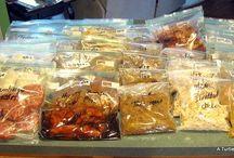 Recipes: freezer/crock pot / Freezer meals / by Brandi Webb