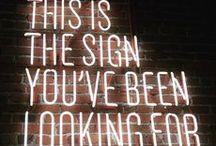 TYPE • Signage / Signage design