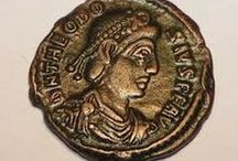 Roman coins / by Heather Wayman