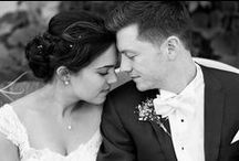 Black & White Wedding Portraits / Elegant stunning moments in black and white.