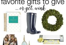 Gift Guide / A gift guide for all occasions!