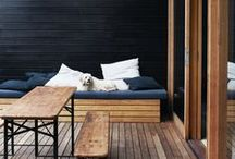 HOME • Outside / Beautiful outdoor spaces