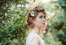 Stylish Bride Inspiration / All about the bride. Capturing the dress, hair, accessories, getting ready and any stylish ideas to share.