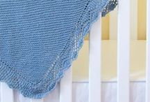 Blanket Knitting Patterns / Blanket and Baby Blanket knitting patterns for your home, lap blankets, stroller blankets, and throw blanket.