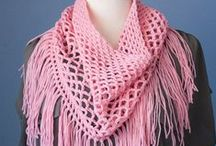 Crochet Patterns / Scarf, cowl, blanket, shawl, and hat crochet patterns.