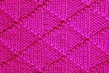Knit Stitch Patterns / knit stitch, knit stitch patterns, knitting stitch library
