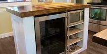 Kitchen Island Coolers / Refrigerated kitchen island ideas, built in island coolers