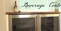 DIY Bar Projects / DIY projects for built in coolers, home bars or wine bars