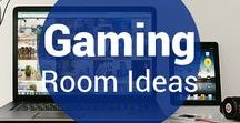 Gaming Room Ideas / Here we've put together some bright ideas for your game room from us and around pinterest