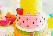 Torta dekorálás
