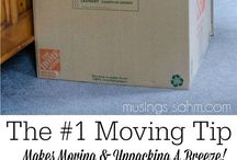 Moving / Moving can be stressful but use these tips! To be added, message me or leave a comment on a recent pin.