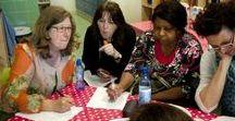 Academie De Schoolschrijver / De Schoolschrijver Academie, ons professionaliseringsaanbod voor leerkrachten in het basisonderwijs, met trainingen in creatief schrijven, vergroten van leesmotivatie en taalplezier.