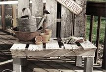 Crates and Pallets... / I like crates and I am amazed by what can be done with a pallet...you can even make crates out of them! / by Meredith Knight