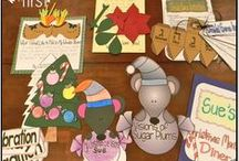 Holidays in the Classroom / December holiday ideas for the classroom.
