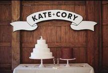 Wedding Reception Decor & Ideas / by Chelsey Somohano