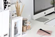 Office decor / I would change my office deco every single day if I could / by Yazmina Cabrera