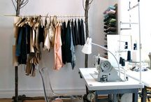 Sewing space inspiration / Wish my husband allowed me to give my Sewing Machine the place it deserves in the house / by Yazmina Cabrera