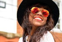 Shady Ladies / Beauty is in the eye of sunglasses wearers  / by Mysmallwardrobe.com