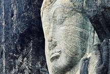 Buduruwagala Rock Carving / Although it is off the beaten track and seldom included in tour itineraries the Buduruwagala Rock carving site is perhaps the finest example of Mahayana Buddhism Scupltures that can be found in Sri Lanka dating back to 9-10 c. Its jungle setting adds depth to this site. / by Secret Lanka