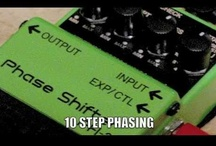 Awesome Effects Pedals / Some classic and contemporary effects pedals to expand your sound and musical palette.