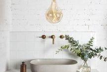 Decorating | Bathroom Decor and Style Ideas / Design and decor ideas for the master bathroom and ensuites. Bathroom Decor. Bathroom Ideas. Bathroom Remodel. Bathroom Organization. Bathroom Style Boards.