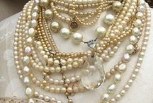 Pearl Glamour / Pearls add instant class and sophistication to any outfit. / by Diane Fadden