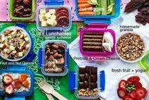 Healthy Snackin' / Healthy quick preparation meals  / by Tina Bernardin