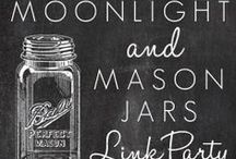 Link Party Picks - Moonlight & Mason Jars / Moonlight & Mason Jars is a Wednesday link party where DIY and food bloggers link up their creations each week. This board displays the projects of bloggers who have been chosen to be featured weekly. Link up and have your creation displayed on five popular blogs including Modern Pilgrim Blog, Grace and Good Eats, Dagmar's Home, A Fresh-Squeezed Life, and My Life From Home.