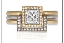 Tessalatte / Linking, locking and luxurious modern diamond rings.