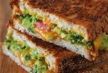 Vegetarian Sandwiches / Great for lunch, great for dinner.