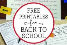 Back to School! / It's that time again! Find all you need from classroom management tips, to first week ideas, to tips on building parent-teacher relationship! #earlyeducation