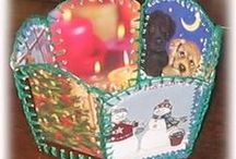 Recycled Card Crafts
