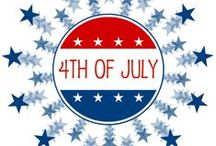 Red, White, and Blue for Kids! / Learning and art activities for children to celebrate the 4th of July!