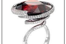 Platinum jewellery / Custom made pieces created in 950 platinum for lovers of unique design