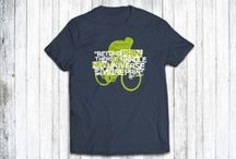 Our Cycling T-shirts / Our range of gorgeous-looking designer cycling T-shirts!