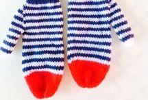 Pletené Rukavice a palčiaky // Knitted Gloves and Mittens / O Pletených rukaviciach a palčiakoch // About knitted Gloves and Mittens