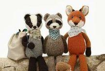 Pletené hračky // Knitted toys / O pletených hračkách // About knitted toys