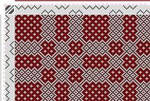Tkanie vzory // Weaving drafts / Predlohy na tkanie // Weaving drafts