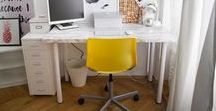 Schreibtisch / Arbeitsplatz
