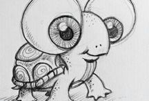 Zen doodle drawing