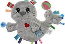 sewn sensory tag toys