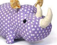 sewn rhino