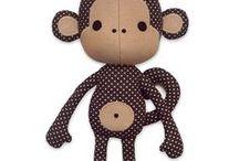 sewn monkey