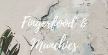 """Fingerfood & Munchies / Guests, parties or just if you feel like having """"a little bit of everything"""" - fingerfood is fun! Browse these easy and elegant fingerfod ideas found all around the web."""