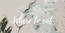 Where to eat and drink / Discover excellent recommendations of other bloggers and travelers where to eat and drink in different countries and cities!