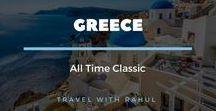 Greece Travel - Bucket list