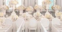 BIAŁY ŚLUB WESELE white wedding inspirations / Wedding inspirations. White decor, white invitations, white flowers, white dress.