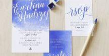 AKWARELOWY ŚLUB I WESELE, watercolor wedding inspirations / Suknie ślubne, pierścionki zaręczynowe, dekoracje stołów, zaproszenia, menu, winietki, kwiaty, bukiet ślubny watercolor wedding ideas