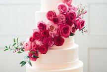 AMARANTOWY MALINOWY CIEMNORÓŻOWY ŚLUB wedding inspirations / ślubne inspiracje: malinowy róż, amarant, fuksja