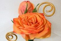 Homecoming and Prom / Inspiring boutonniere and corsage ideas for weddings and proms featuring OASIS Floral Products.
